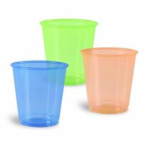 Amazon.com: Solo 3-Ounce Ultra Colors Plastic Cups, 100 ...