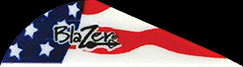 Bohning Blazer Vane - American Flag (Pack Of 100), Assorted