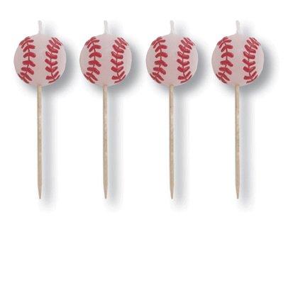 All-Star Baseball Birthday Candles