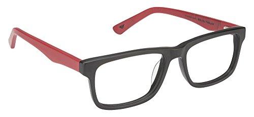 Vincent Chase VC 6486 Matte Black Red C3 Eyeglasses(103907)