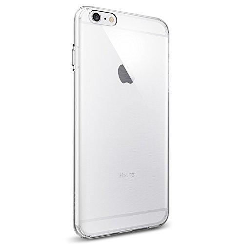 Coque iPhone 6s Plus, Spigen [ Liquid Crystal ] Housse Etui Coque de protection en silicone et TPU Coque pour iPhone 6 Plus (2014) / 6s Plus (2015) - ...