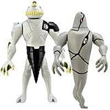 Ben 10 (Ten) Alien Creation Chamber Mini Figure 2-Pack Ripjaws And Ghostfreak