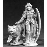 Aeris, Elf Ranger And Panther