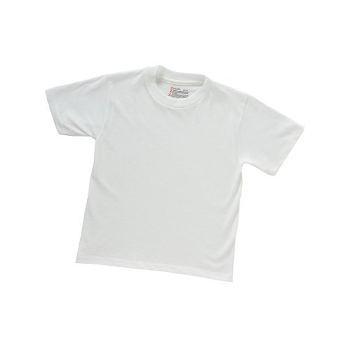 Hanes ComfortSoft Tagless Boys` Crewneck T-Shirt - Best-Seller!