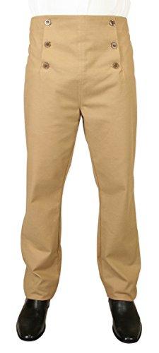 Men's Cotton Blend Regency Fall Front Trousers