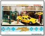 American Graffiti Moments in Time Die-cast Yellow Taxi