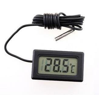 Thermomètre numérique avec écran LCD pour les congélateurs Réfrigérateurs