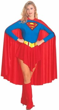 Adult Supergirl Costume - Womens