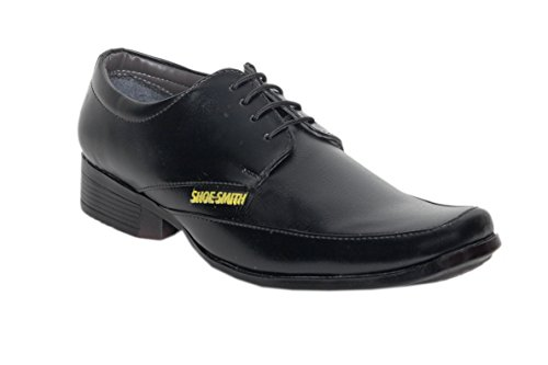 SHOE SMITH Men's Synthetic Leather Formal Shoe
