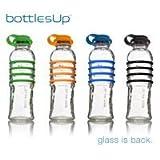 Bottles Up Glass Water Bottle - Orange #BU-ORG