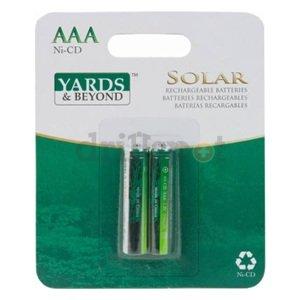 2PK Solar AAA Battery - Landscape Lighting - Amazon.com