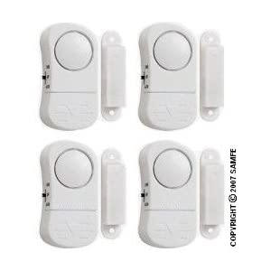 4 Wireless Door&Window Alarm,Home Security,Stop Burglar?Alarm?