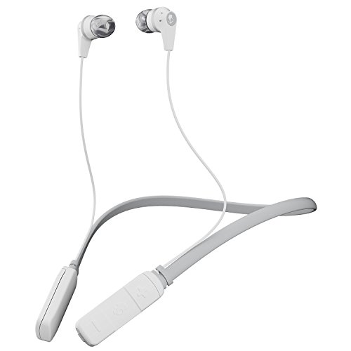 Skullcandy Ink'd Bluetooth Wireless Earbuds with Mic, White (S2IKW-J573)