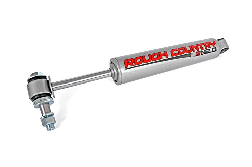 Rough Country 87317N2 – Steering Stabilizer with Premium N2.0 Series Shock