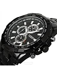 Handcuffs Curren 8023 BLK Military Men Sports Watch