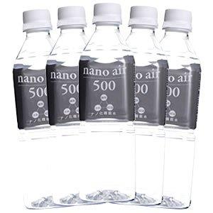 大分県九重 高濃度酸素水 高濃度水素水 nano air500 500ml×24本