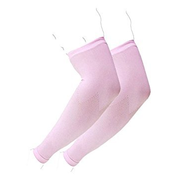 The Elixir 1 Pair, Elixir Sun Protection Arm Cooler Cooling Sleeves PINK Arm Sleeves, C3DP