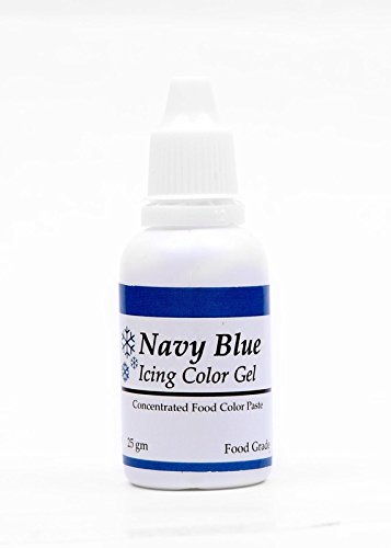 Sugarin Icing Color Gel For Fondant, Navy Blue, 25 Grams