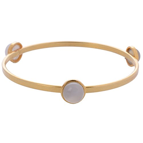 Out Of The Box Party Wear Gold Plated Bracelet Cum Bangle For Women (OOTB032)
