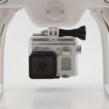 Shown with GoProHERO3+ (maybe not included)