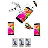 PACK Of 3 TEMPERED GLASS SCREENGUARD For INTEX AQUA POWER 4G MOBILE