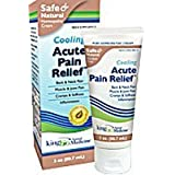 King Bio Homeopathic Acute Pain Relief Cream - 3 Oz