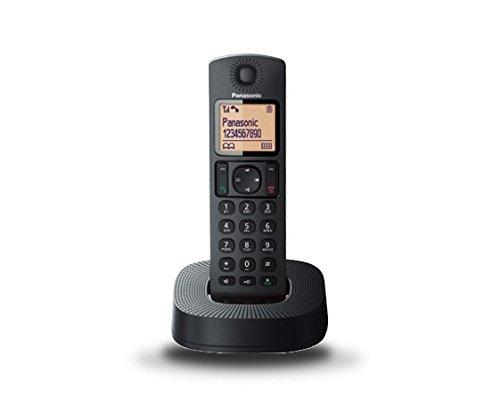 Panasonic KX-TGC310SPB - Teléfono inalámbrico digital (DECT Single, identificación de llamada entrante), negro