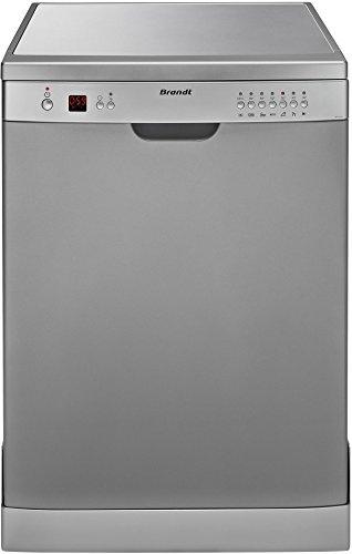 Brandt DFH12127S lave-vaisselle - lave-vaisselles (Autonome, A, A+, Argent, boutons, A)