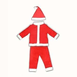 Weihnachtsmannkostüm für Kinder 3tlg Nikolauskostüm