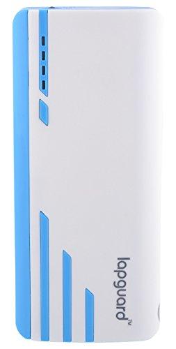 Lapguard Sailing-1530 Power Bank 10400 MAh Make In India Portable Charger Powerbank - White-Blue