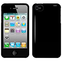 Amzer 90586 Injecto Snap On Hard Case - Black For IPhone 4S
