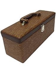 Essart PU Leather Mini Bar Set |Mega Bar Set | Leatherette Briefcase Bar Set | Bar Set | Bar Set For Picnic |...