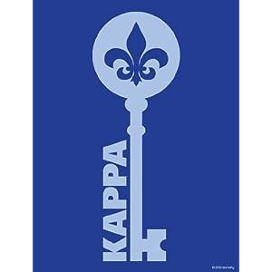 Kappa Kappa Gamma Key Print