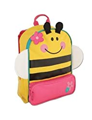 Stephen Joseph Little Boys' Sidekick Backpack -Bee