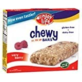 Enjoy Life Very Berry Chewy On The Go Bars, Gluten, Dairy & Nut Free, 5-Ounce Boxes (Pack Of 6) ( Value Bulk Multi-pack)