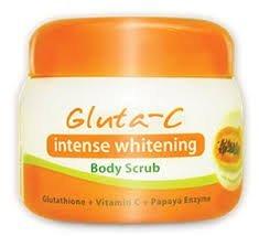 Gluta-C Intense Whitening Body Scrub 120grams