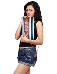 Digitally Printed Multi Stylish Loung Clutch Fashion/Carry Bags With Multi Pocket - B01IBJX4YA