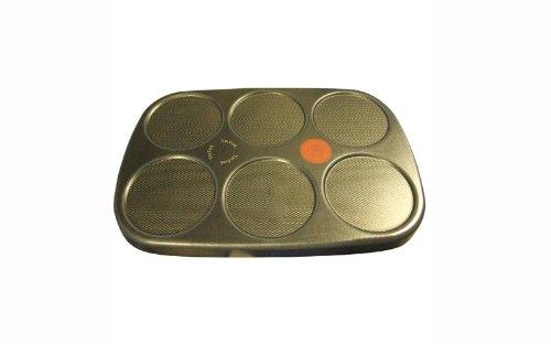 TEFAL Plaque de cuisson 6 crêpes