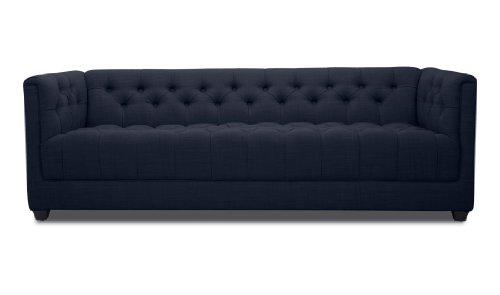 FASHION FOR HOME 3-Sitzer Sofa Grand Blau Deluxe