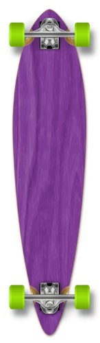Yocaher punked and stained pintail longboards