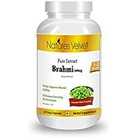 Natures Velvet Brahmi Pure Extract (500 Mg), 60 Capsules