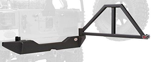 Body Armor 4×4 JK-2394 Black – Steel Rear Bumper for 2007-2013 JK Jeep Wrangler