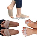 Alcoa Prime Silicone Gel Toe Separators Alignment Ball Of Foot Gel Pad Bunion Protector