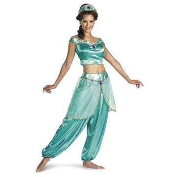 Disney's Aladdin Jasmine Deluxe Adult Costume