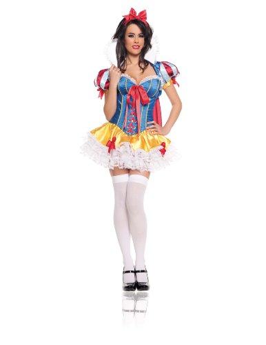 Snow White Deluxe 5 pc Corset
