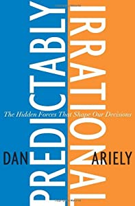 """Cover of """"Predictably Irrational: The Hid..."""