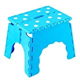 Kids Portable Plastic Stool for Sitting, Capacity upto 150KG by Kurtzy TM - Pack of 1