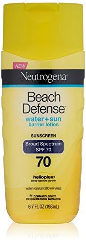 Neutrogena Beach Defense Water + Sun Barrier Lotion Sunscree