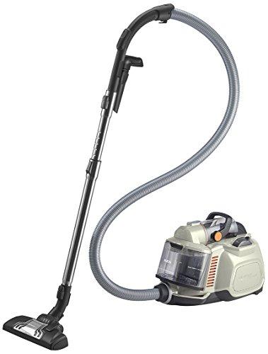 AEG SilentPerformer Cyclonic - Aspirador sin bolsa, silencioso, color blanco
