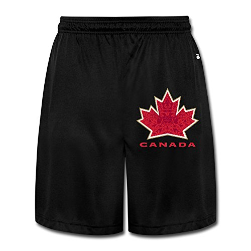 Trump and Clinton Halloween Costumes - Choose Edgy or Funny - Mansway Men's Canada 2016 World Cup Of Hockey Performance Shorts Sweatpants